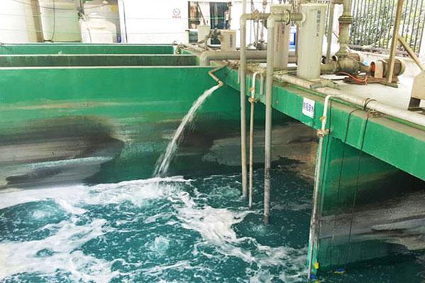 聚合硫酸铁饮用水处理现场